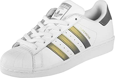 Adidas Superstar, Baskets Mode Femme (37 2/3 EU)