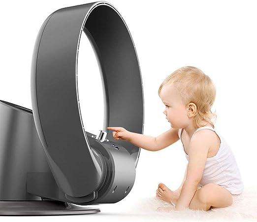 lywyfs Ventilador Sin Aspas Diseño Silencioso De Seguridad En El ...