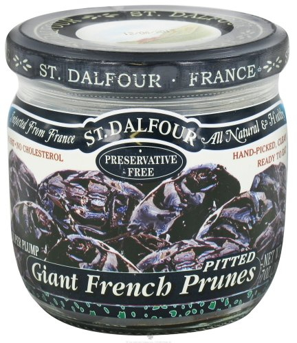 St. Dalfour - Super Plump Giant French Prunes Pitted - 7 oz (pack of 2)