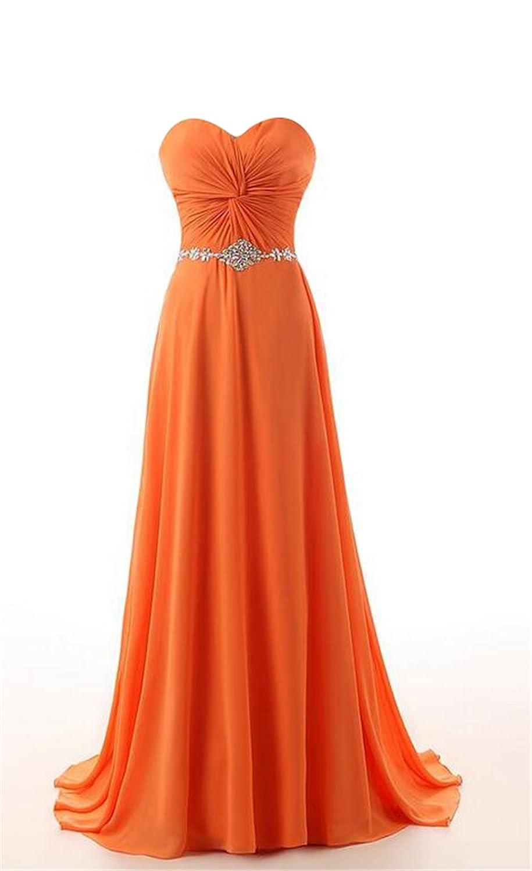 SimpleDressUK Long Chiffon Sweetheart Evening Party Prom Dresses