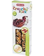 Zolux Crunchy Stick Friandise pour Cochon d'Inde Cacahuète/Avoine 115 g