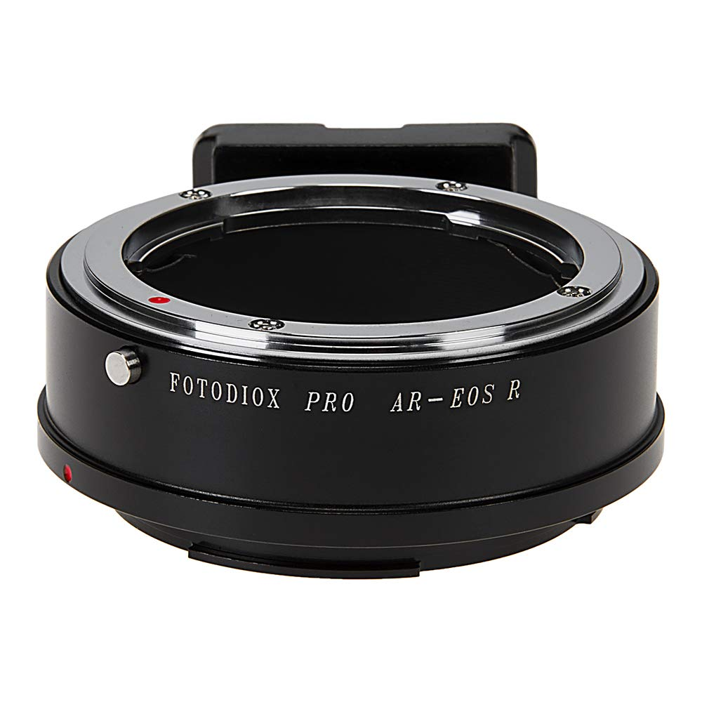 Fotodiox Pro Lens Mount Adapter Compatible with Konica Auto-Reflex (AR) SLR Lenses to Canon Rf (EOS-R) Mount Mirrorless Camera Bodies by Fotodiox
