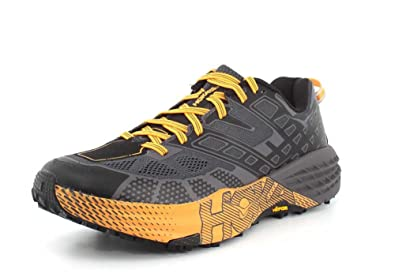 7aa7a89e65b8 Hoka One One Speedgoat 2 Black kumquat  Amazon.co.uk  Shoes   Bags