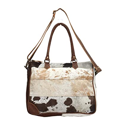 6578e10591d0 Image Unavailable. Image not available for. Color  Myra Bags Genuine Leather  with Cowhide ...