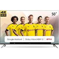 """CHiQ Televisor Smart TV LED 50"""", Resolución 4K UHD, HDR10/HLG, Android 9.0, WiFi, Bluetooth, Netflix, Prime Video, HDMI…"""