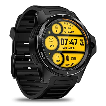Amazon.com: New Zeblaze Thor 5 Smartwatch 4G LTE Smart Watch ...