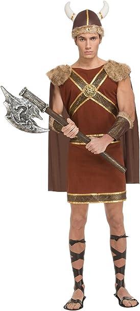 My Other Me Me-204194 Disfraz de vikingo guerrero para hombre, M-L ...