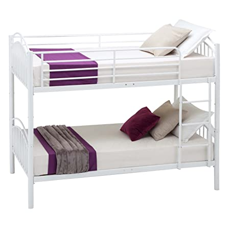 Mecor Bunk Beds Frame Single Bed 2x3ft For Kids Children And Adult