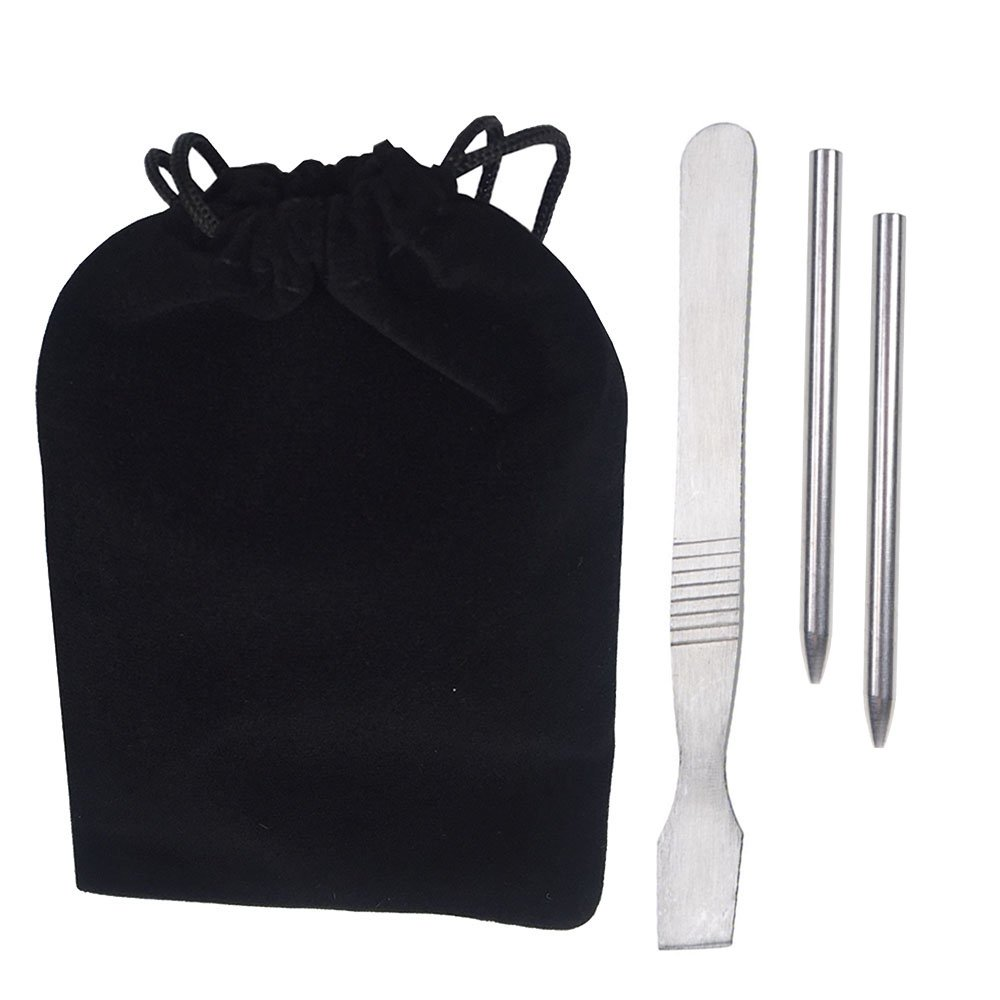 Stainless Steel Paracord /& Leather Stitching FID Needles,Paracord Tool Starter Kit,Paracord FID Accessory Stainless Steel Paracord FID Lacing//Stitching Needle for Laces and Strings with Velvet Bag