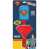 ICUP 15942 DC Superman Spatula Cookie Cutter 2pk, Multicolor