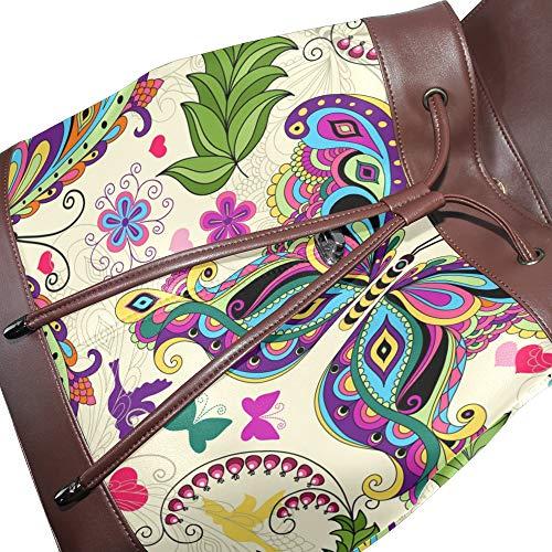 dos pour DragonSwordlinsu unique Sac multicolore à porté au main Taille femme fZwawXq