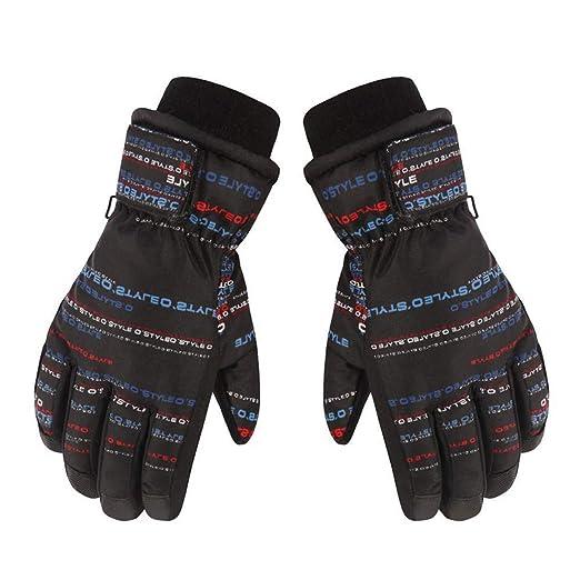Children Kid/'s Winter Ski Gloves Boys Girls Waterproof Thicken Warm Sport Gloves