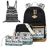 Teen Girls Backpacks School Shoulder Bags Backpack Set