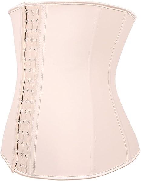 Donna Corsetto corsetto Waist Trainer Cincher con 9 acciaio Incenso Dessous Lingerie grembiule mezzobusto corsetto Shapewear