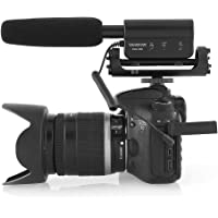 TAKSTAR Photography Interview Microphone Condenser Recording MIC 3.5mm Interface for Nikon Canon Sony DSLR Camera DV Camcorder SGC-598