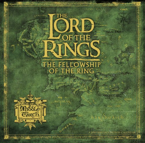 Lord of the Rings 2010 Special Edition Calendar