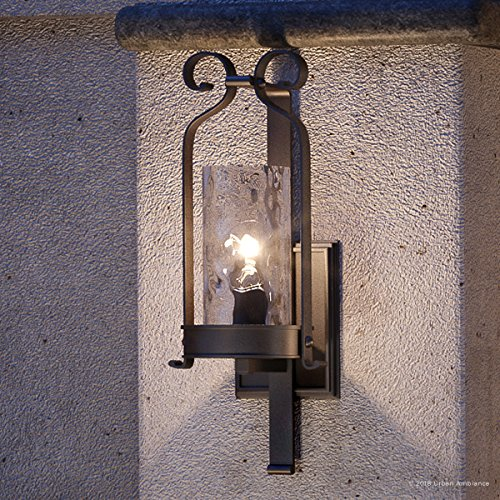 Luxury Tuscan Outdoor Wall Light, Large Size: 21