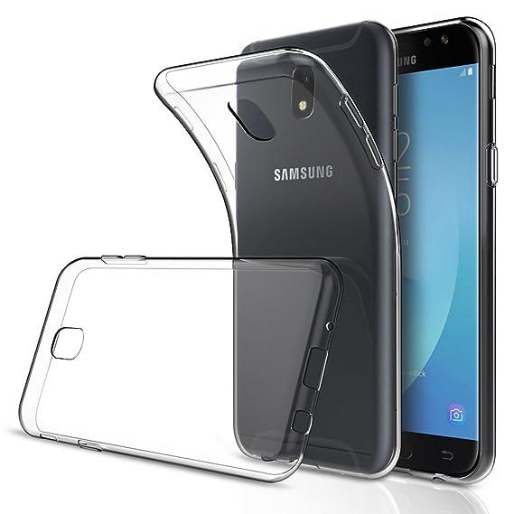 f9395ff7c6d Simpeak Funda Samsung Galaxy J5 Pro (2017), Fundas Transparente Samsung  Galaxy J5 2017