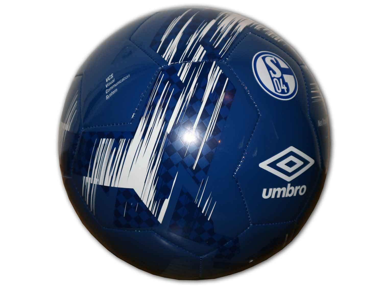 UMBRO S04 FC Schalke 04 - Balón de fútbol, Color Negro, Todo el ...