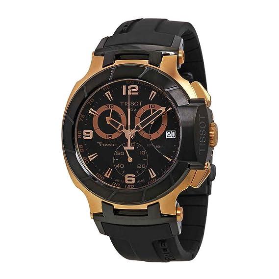 d03ae9bd0fa1 Tissot T0484172705706 Reloj Análogo T-Race para Hombre  Tissot ...