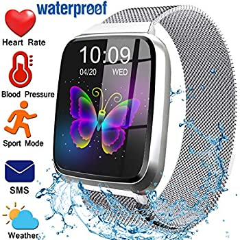 Fitness Tracker for Women Men with Blood Pressure Heart Rate Monitor 1.3