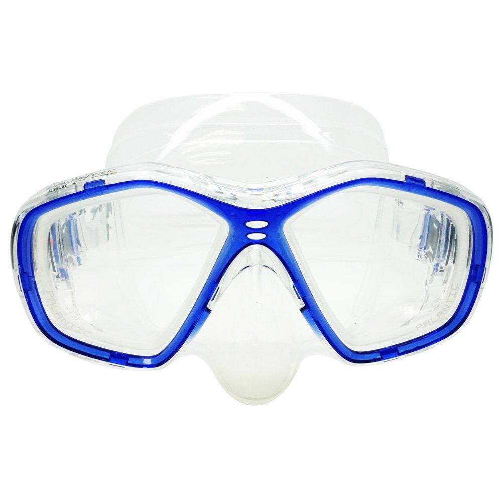 Palantic azul buceo/snorkeling Jr, máscara de buceo con RX lentes graduadas: Amazon.es: Deportes y aire libre