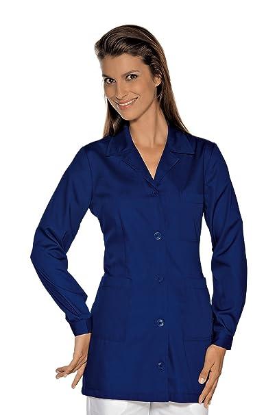Isacco-túnica médica Marbella, Color Azul Oscuro Azul Small