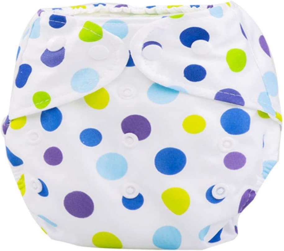 Koly/® Newborn Baby Cloth Diaper Cover Adjustable Reusable Washable Nappy Non-Disposable Nappies B
