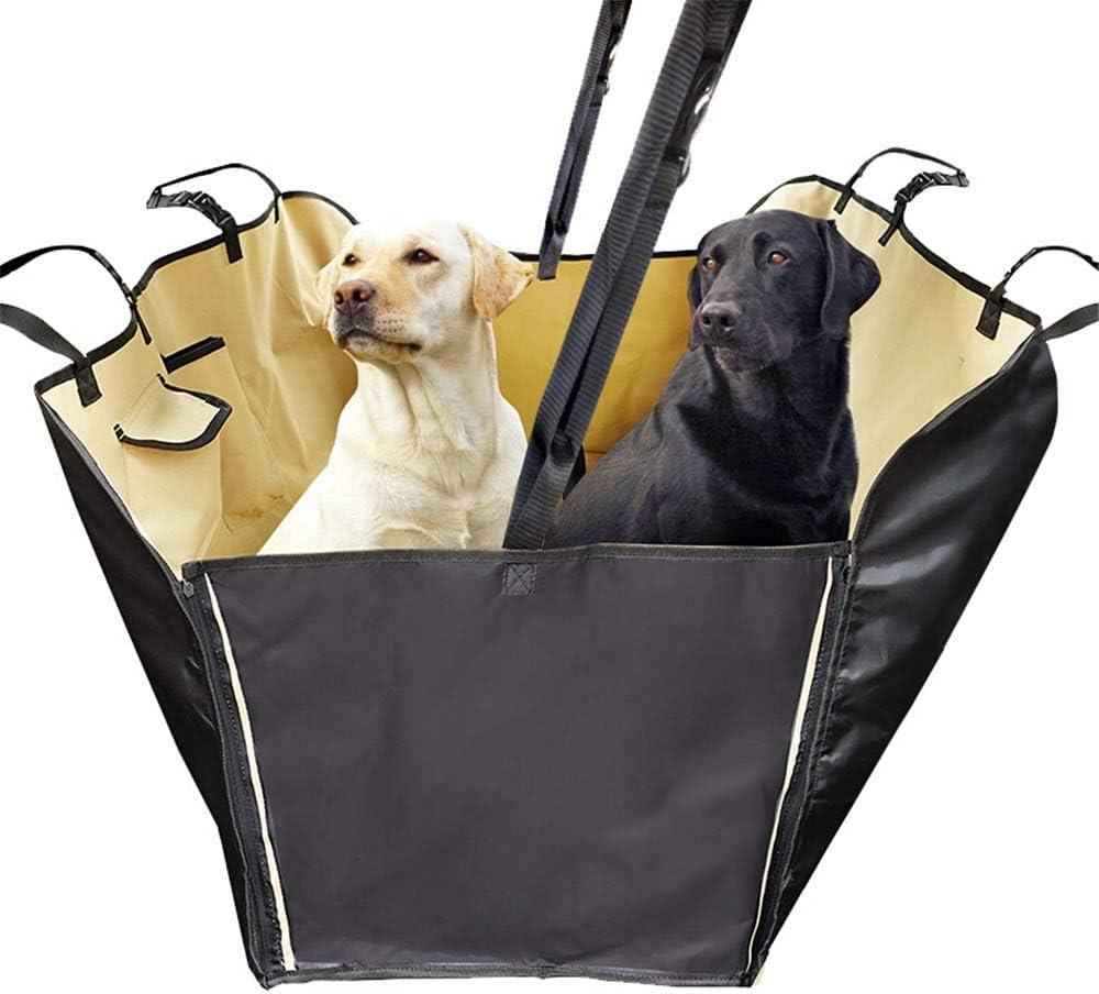 Protector de tapicería para Perros Asiento Perro Coche! Cubierta Premium for Mascotas Material Impermeable con Bolsa de Transporte Antideslizante del Asiento Pet Protector Seguro y cómodo: Amazon.es: Hogar