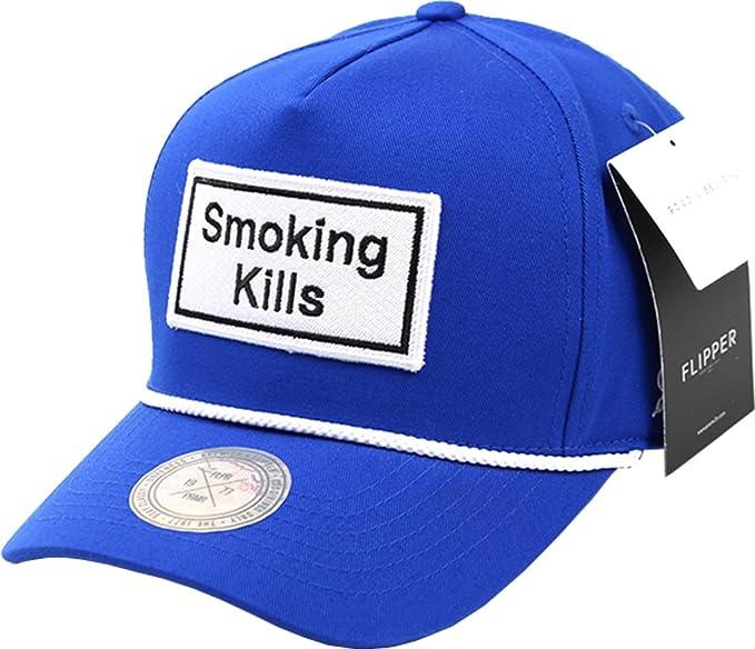 sujii SMOKING KILLS Gorra de Beisbol Baseball Cap Sombrero de Golf gorra de  Camionero Trucker Hat Blue  Amazon.es  Ropa y accesorios b8619476f03