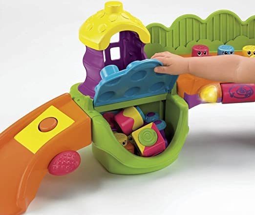 Amazon.com: Fisher-Price Stack 'n Surprise Blocks Songs 'n Smiles ...