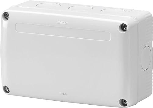 Gewiss GW27402 IP55 caja eléctrica - Caja para cuadro eléctrico (132 mm, 82 mm, 55 mm): Amazon.es: Bricolaje y herramientas