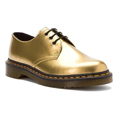 Dr.Martens 1461 PW Gold Womens Shoes Size 5 UK: Amazon.co.uk