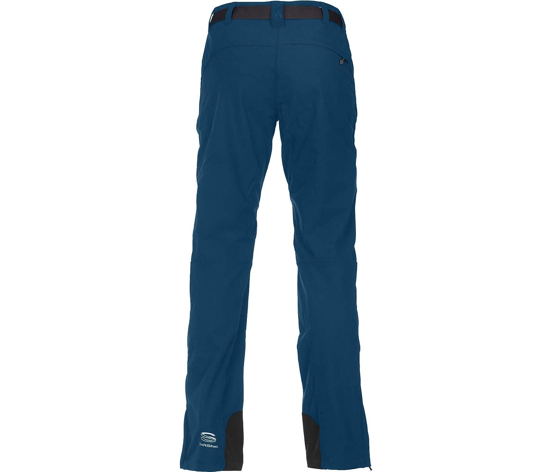 atmungsaktiv wasserabweisend Winddicht robust Bergson Damen Winter Softshellhose MAILA elastisch perfekte Passform warm