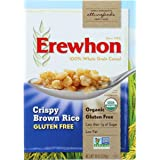 Erewhon Organic Crispy Brown Rice Cereal, 10 Ounce - 12 per case.