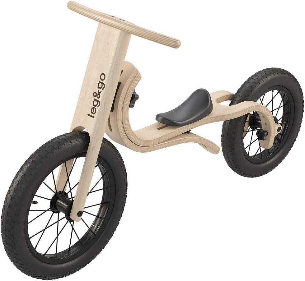 Leg&Go - Bicicleta de Equilibrio de Madera, 3 en 1: Amazon.es ...