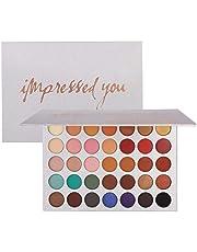 Beauty Glazed 35 Colors Eyeshadow Palette Eye Shadow Powder Make Up Waterproof Eye Shadow Palette Cosmetics