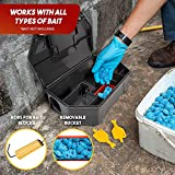 Rat Bait Station 2 Pack - Rodent Bait Station with