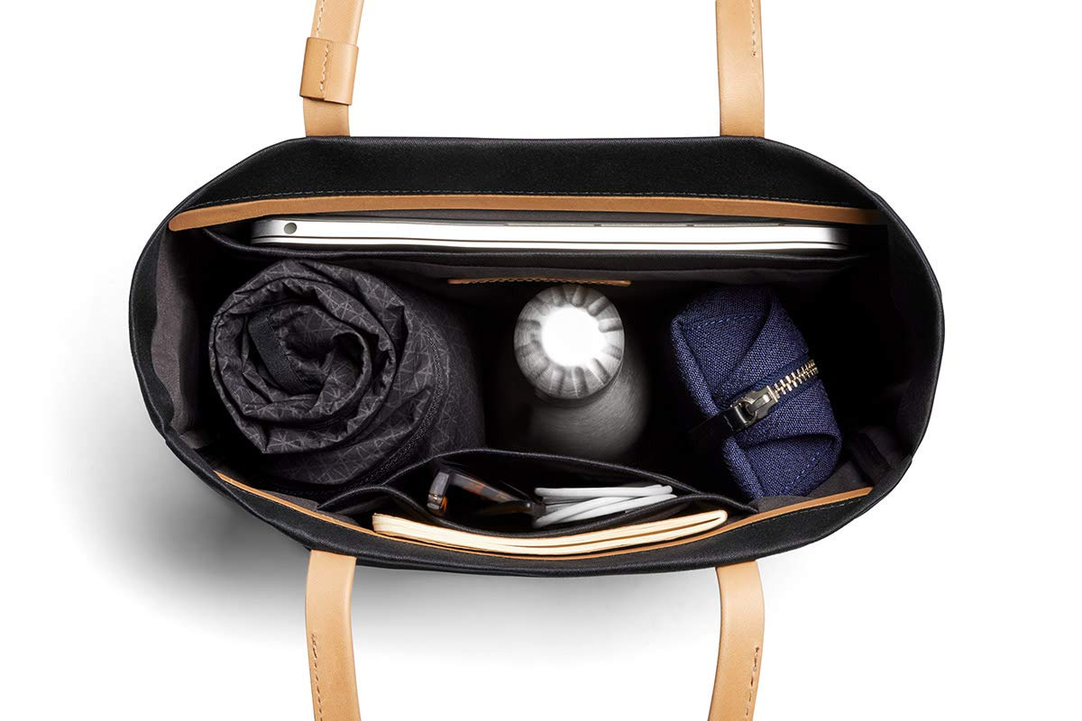 Bellroy Melbourne Tote (13 liters, 13'' Laptop, Personal Items) - Black by Bellroy (Image #5)