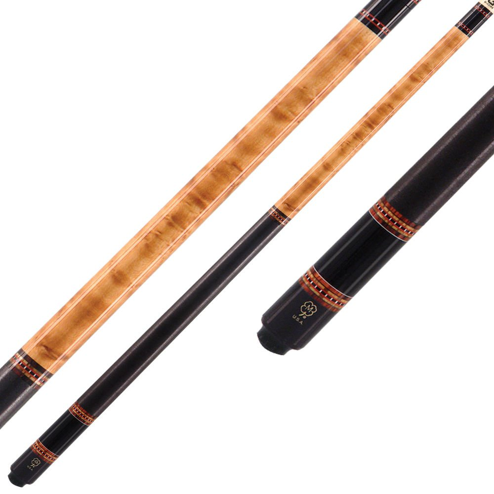 McDermott Cues - G Series - 5 Sets of Cocobolo and Bocote Index Rings - Includes Case - 19oz
