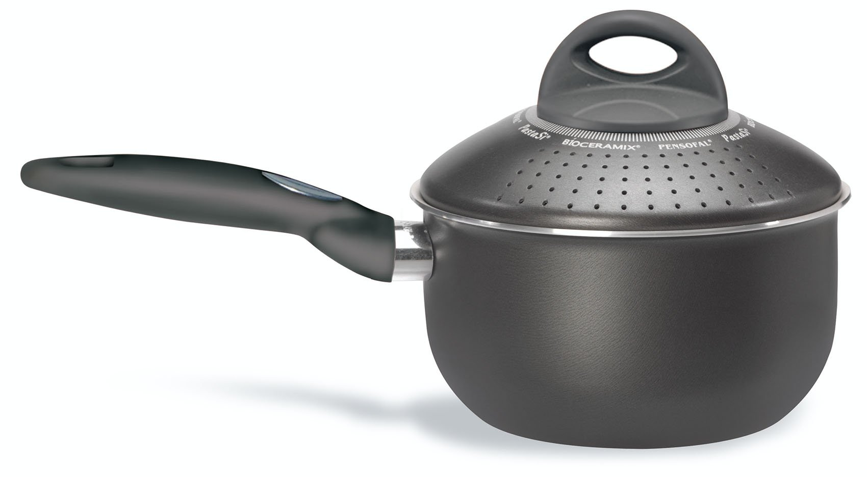 Pensofal 07PEN8630 Platino Bio-Ceramix Non-Stick Baby PastaSi Pasta Cooker with Lid, 1-1/2-Quart