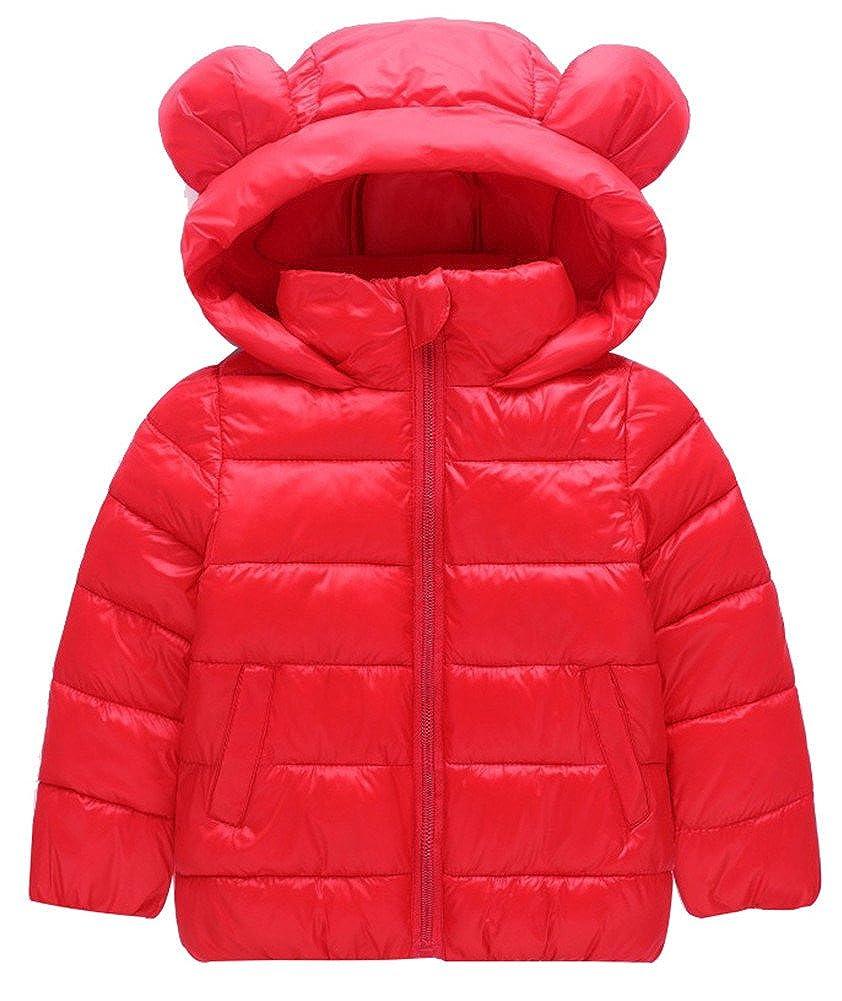 WEONEDREAM Unisex Girls Boys Hooded Jacket Coat weonedreamioi4521018