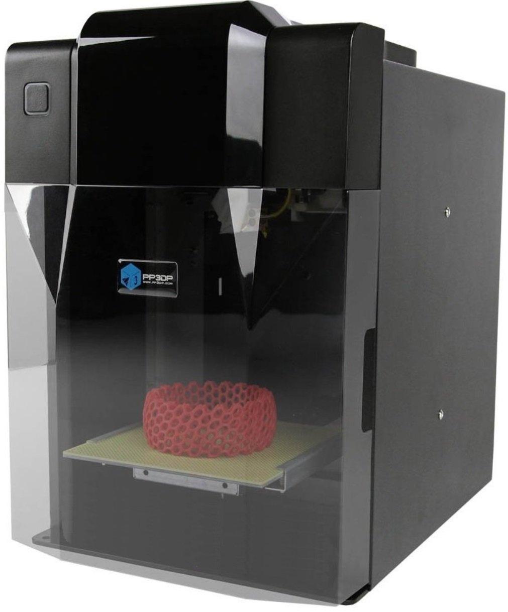 PP3DP A-23-01 3D Drucker (Starterset, Software, geschlossenem Druckschrank, beheizter Druckplatte)