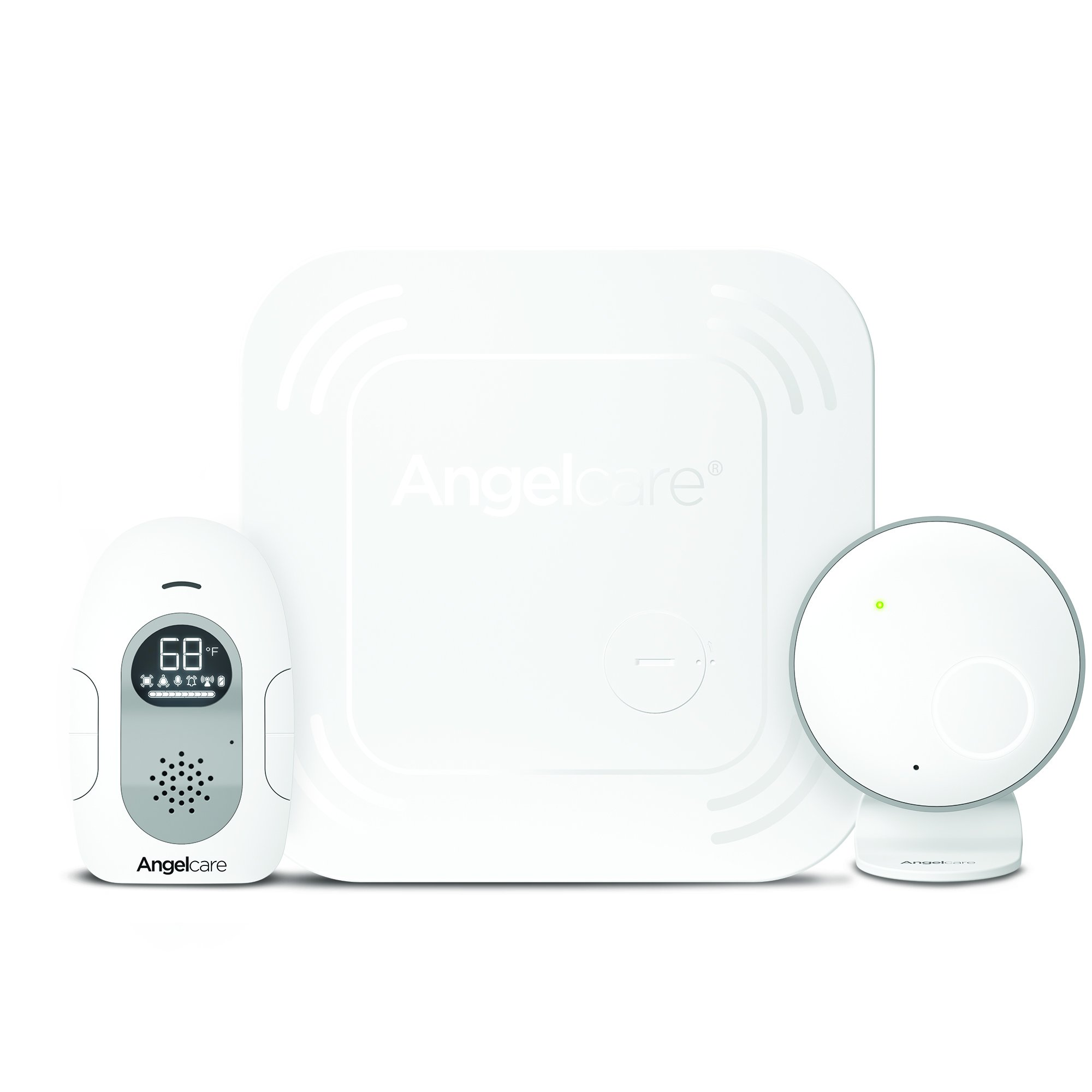 Angelcare Baby Monitor with Sound and Wireless Sensor Pad AC117 by Angelcare
