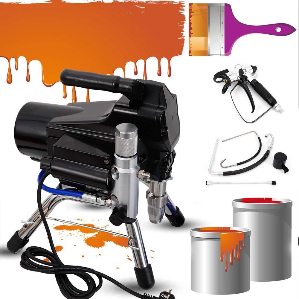 TFCFL High Pressure Airless Wall Paint Spray Gun Sprayer Machine Spraying Machine 2200W Stainless Steel