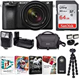 Sony Alpha a6500 Mirrorless Camera with 18-135mm f/3.5-5.6 Lens and 64GB Memory Card