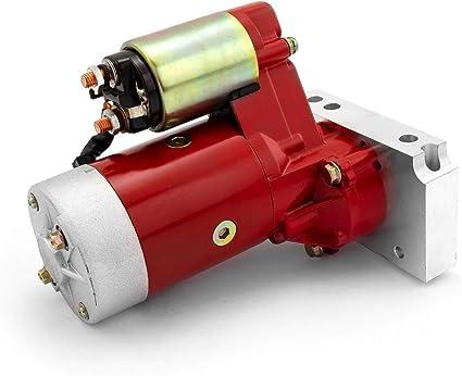 Chevy Starter Motor Stud /& Shim Kit SBC 350 383 BBC 396 454 High Torque Starter
