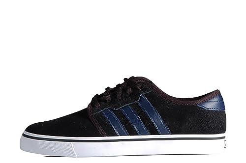 adidas Seeley Sneakers - Zapatillas de Deporte Negras Negro Size: 45 1/3: Amazon.es: Zapatos y complementos