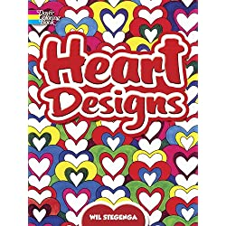 Heart Designs (Dover Design Coloring Books)
