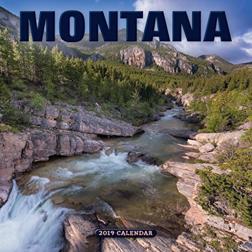 2019 Montana Mini Wall Calendar